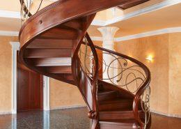 کاور (پوشش) چوبی پله (پله محوطه)